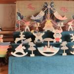 円武者三段飾り