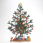 大きなツリーとプレゼント