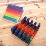 虹色で積み木考察