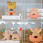 小黒三郎さん・小さな組み木の五月人形