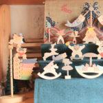 小黒三郎さん 組み木の五月人形