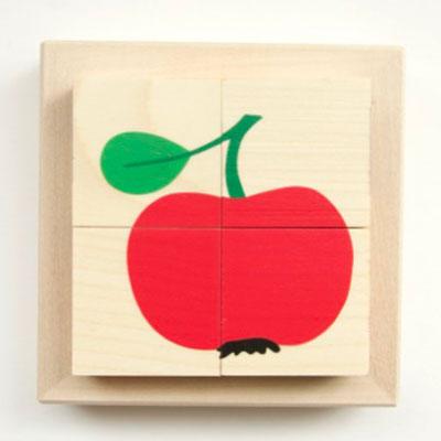 キューブパズル りんご