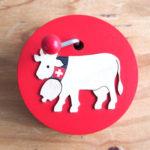 手回しオルゴール・スイスの牛