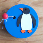 手回しオルゴール・ペンギン