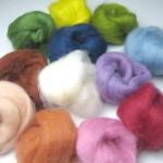 草木染め羊毛セット