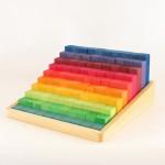 虹のカウンティングブロック(小)