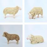 白木の羊(大)