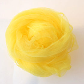 シフォンスカーフ・黄