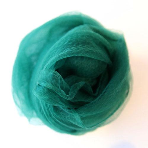 シフォン・緑