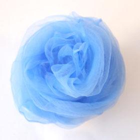 シフォンスカーフ・水色