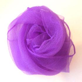シフォンスカーフ・紫