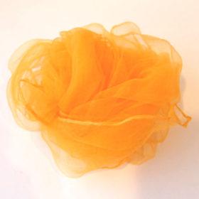シフォンスカーフ・橙