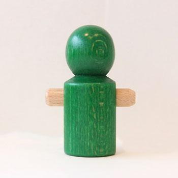 【追加パーツ】人形 緑