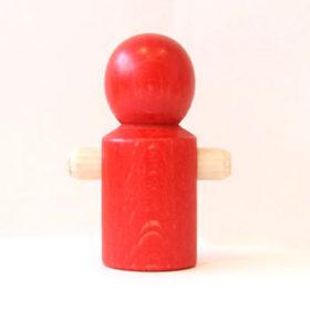 ニックスロープ 人形赤