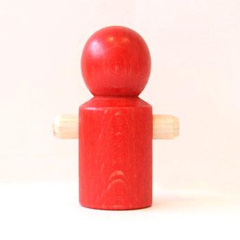 【追加パーツ】人形 赤