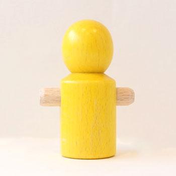 【追加パーツ】人形 黄
