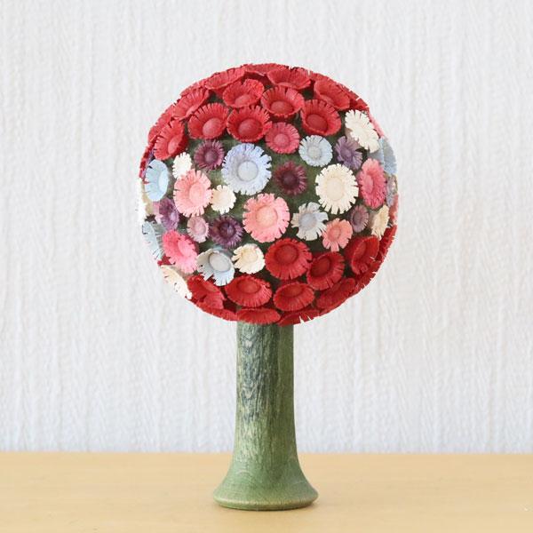 フラーデ・丸い花の木 パステル