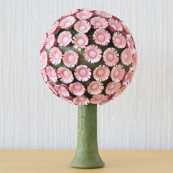 フラーデ・丸い花の木 ピンク