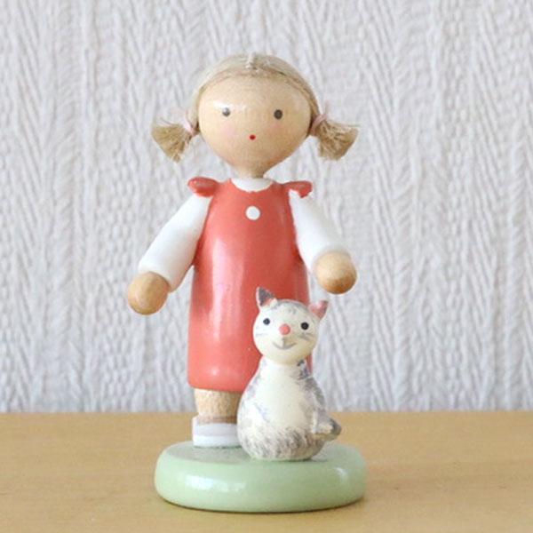 フラーデ・女の子とネコ
