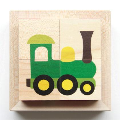 キューブパズル 機関車