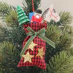 オーナメント クリスマスプレゼント袋
