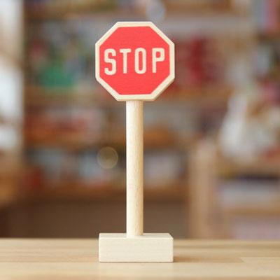 道路標識・一旦停止