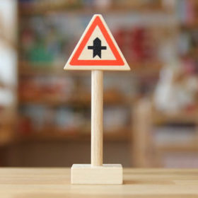 ベック社の道路標識 優先道路