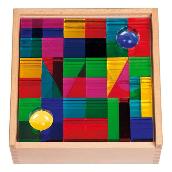 木箱入り【Luxy】ブロック カラー
