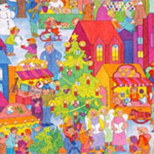 【包装】クリスマスマーケット(小型限定・クリスマス)