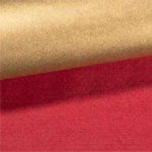 【包装】赤&金リバーシブル(クリスマス)+シールかリボン
