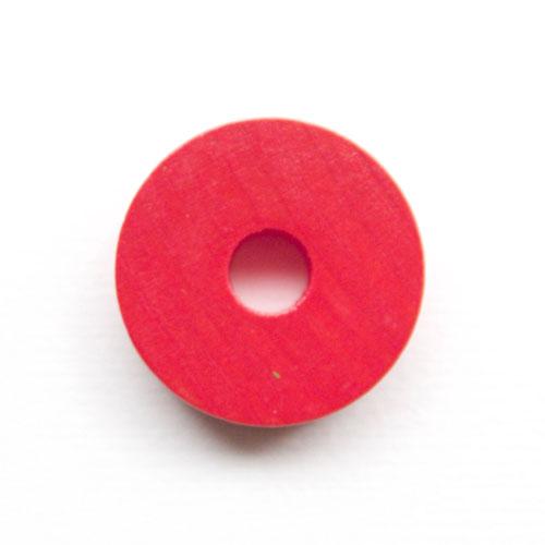 プラステンコマ単品 赤