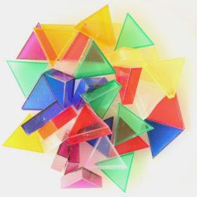 プリズモ(大)透明7色(約35個)