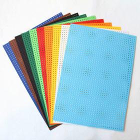 ステッチカード 紙のみ10色10枚