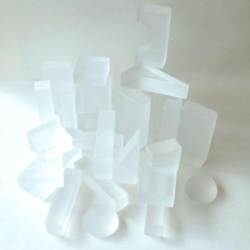 【Lumi】ブロック・ホワイトカラー