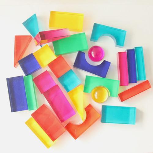 【Luxy】ブロック・カラー