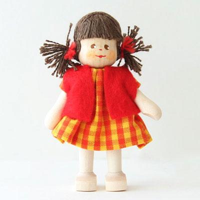 クレーブス人形 女の子ベスト