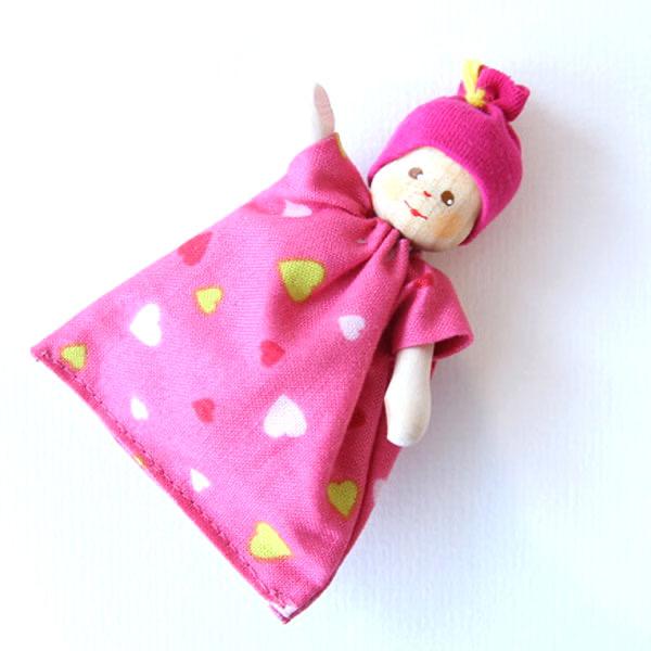 クレーブス 赤ちゃんピンク帽子