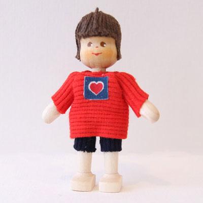 クレーブス人形 男の子Tシャツに短パン