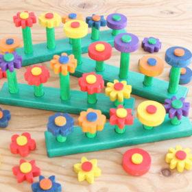 Blumensteckspiel