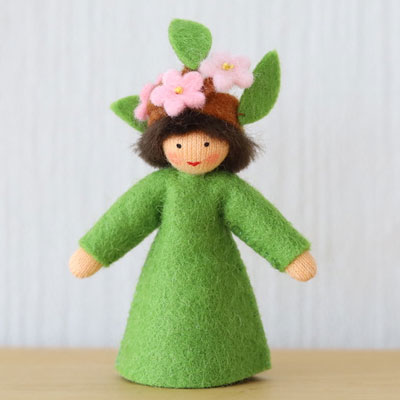 春の小枝・ベージュ