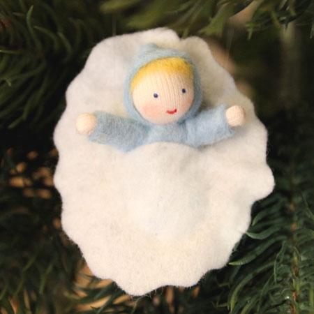くるみの赤ちゃん(ブルー)・ホワイト