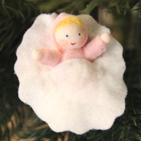 くるみの赤ちゃん(ピンク)・ホワイト