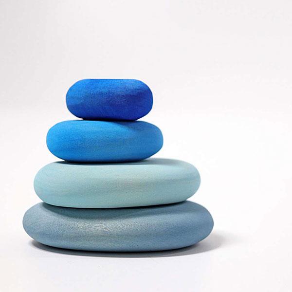 グリム色の石 GMストーン・ブルー