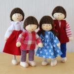 ヘアヴィック社 ドールハウス人形
