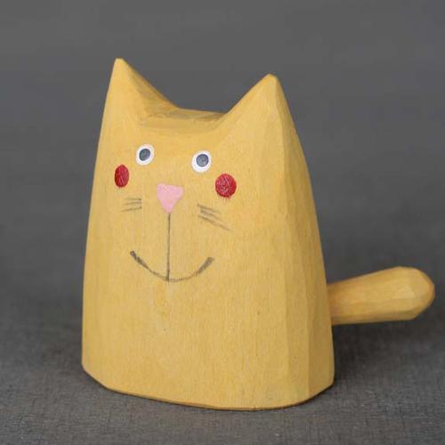 Kočka malá - žlutá 子ねこ・黄