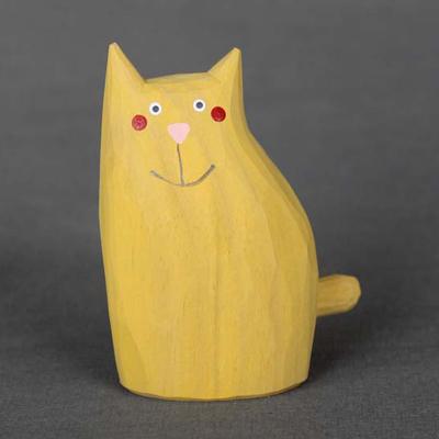 Kočka velká - žlutá ねこ・黄